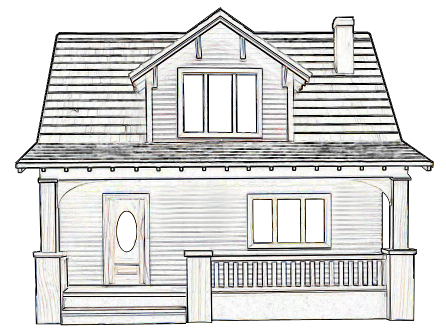 Line Art Dollhouse : Real good toys beachside bungalow