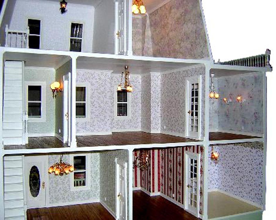 wiring a dollhouse rh dollhouseworkshop net Miniature Dollhouse Wiring Kits dollhouse electrical wiring kits